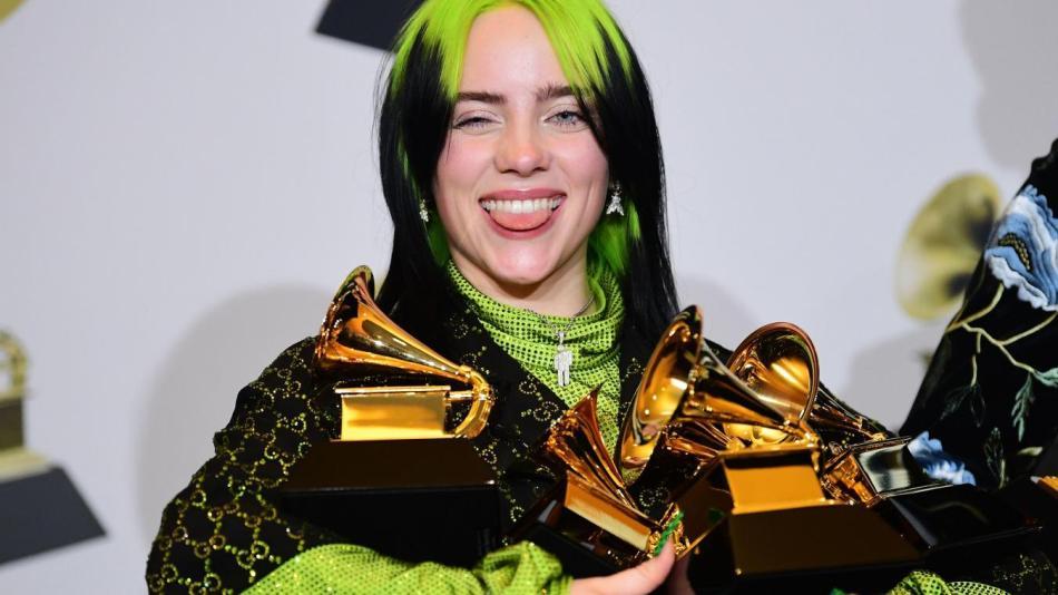 Billie Eilish Live Grammys