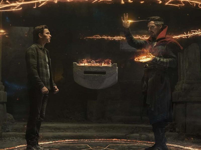 Spider-Man: No Way Home: Benedict Cumberbatch, Tom Holland