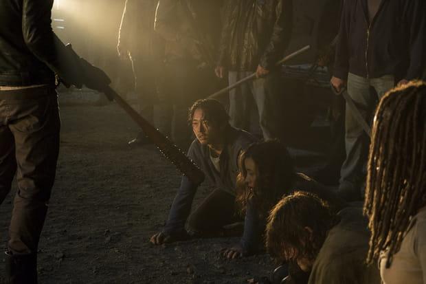 Mort de Glenn walking dead